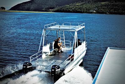 Custom Pontoon 21 Leisure Boating