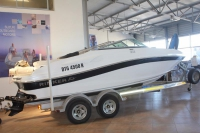 2012 Rinker 216 with 350 Magnum Mercruiser engine