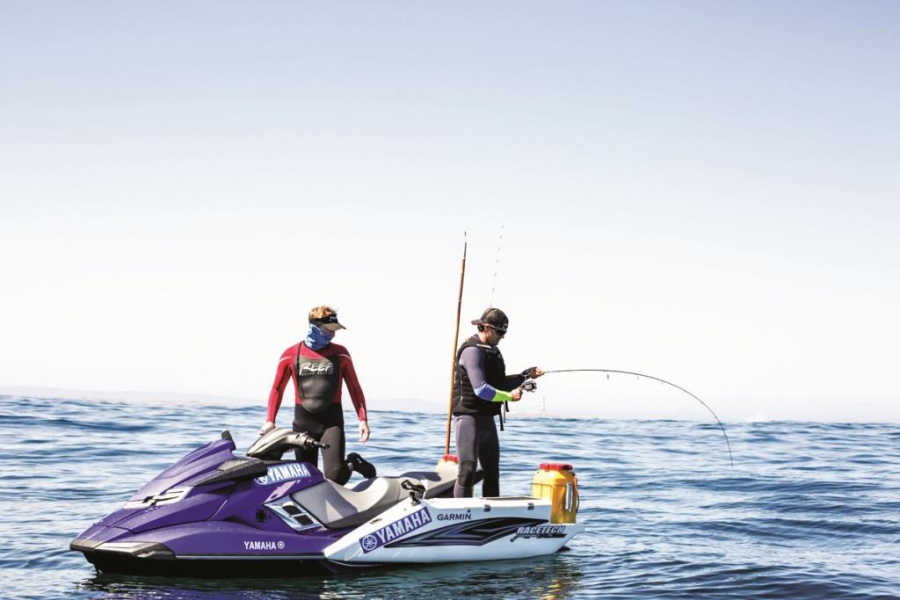 Jetski fishing at dassen leisure boating for Best jet ski for fishing