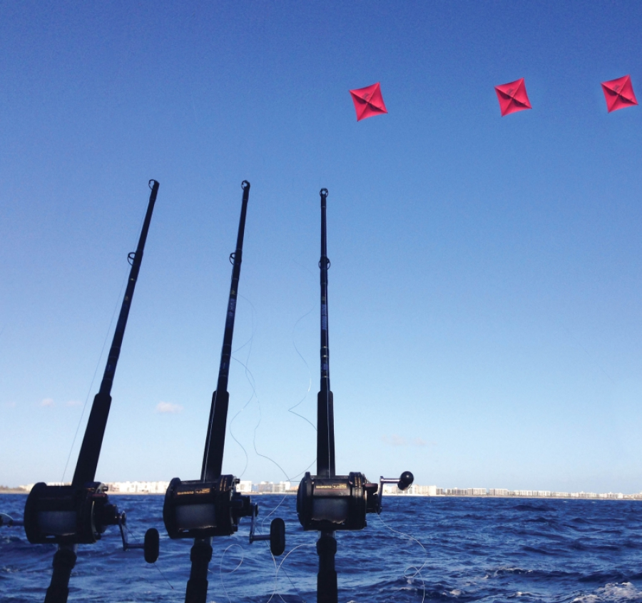 Big game fishing go fly a kite leisure boating for Let s go fishing xl