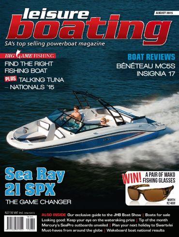 Motor Launch: Mercury 4-Stroke SeaPro outboard motor