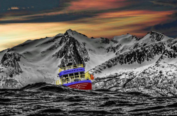 Boating rough seas