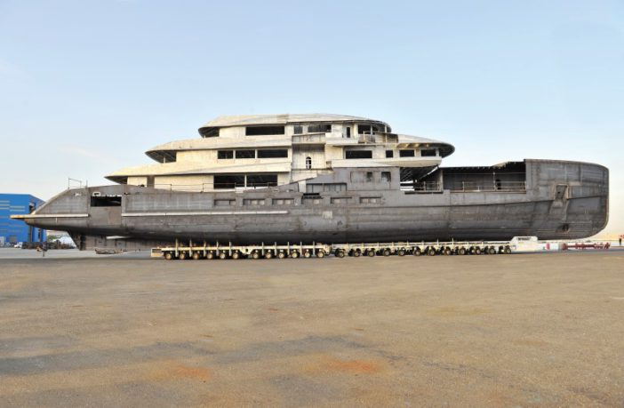 Benetti: Construction of the 70-Meter FB273 M/Y Alkhor