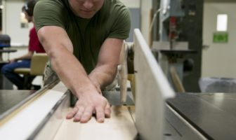 Marines get creative at Wood Hobby Shop