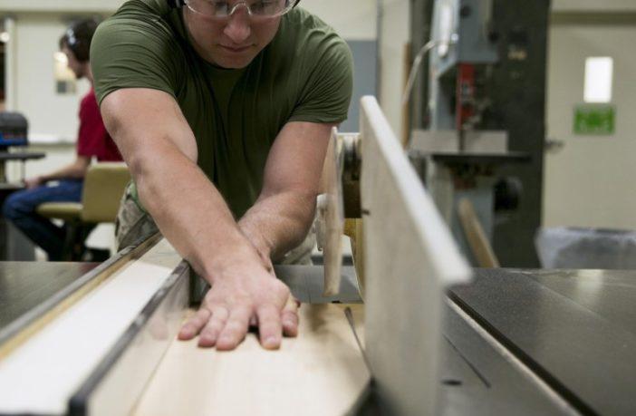 Marines get creative at Wood Hobby Shop