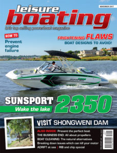 Leisure boating November 2017