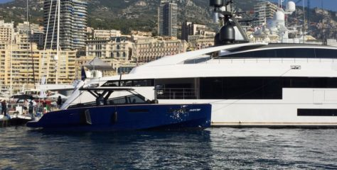 EVO 43' OFFICIAL TENDER FOR ROSSINAVI AT THE MONACO YACHT SHOW