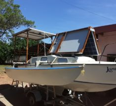 Road to solar power: Part 6 – Small yacht to solar powered boat